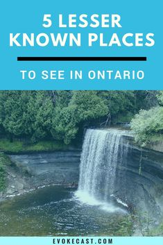 Check out these 5 places! Great tips for traveling in Ontario. Hiking Places, Places To Travel, Places To See, Hiking Trips, Ontario Camping, Ontario Travel, Visit Canada, Canada Trip, Canadian Travel