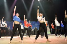 A COLOURFUL dancing troupe from a Hampshire sixth form has scooped six prizesat this year's southern Rock Challenge.