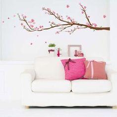 Image de Art Applique by KMG WS047 - Sticker mural géant Cerisier en fleur
