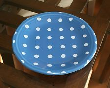 "NEW Fiesta LAPIS w/Polka Dots 7"" Salad Plate*****VERY LIMITED****"