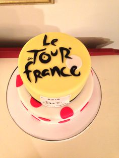 Tour de France Cake, by Amy Hart