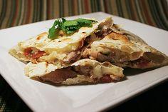 Chipotle Beef Quesadillas | www.tasteandtellblog.com