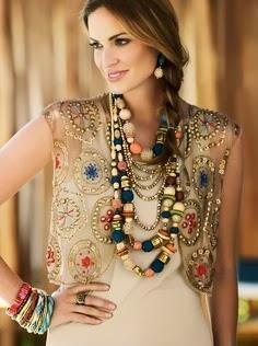 Beautiful Boho Jewelry selected for you Boho Chic, Bohemian Mode, Hippie Chic, Bohemian Style, Ethno Style, Gypsy Style, Boho Gypsy, My Style, Estilo Fashion
