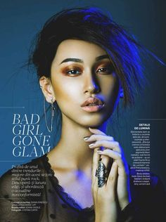 Bad Girl Gone Glam by MUA Diana Ionescu
