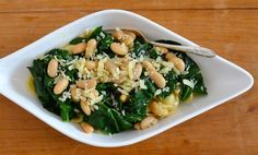 Bitter greens and beans made more substantial with orecchiette pasta for a great Lenten dish, recipe
