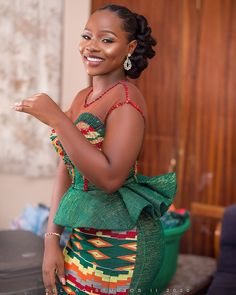 Photo by Wedding Fashion Photographers in Accra, Ghana with and Image may contain: 1 person, standing African Dresses For Kids, African Maxi Dresses, Latest African Fashion Dresses, African Print Fashion, African Attire, Women's Fashion Dresses, Ankara Fashion, Fashion Styles, Fashion Trends