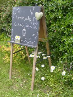Homemade Lemonade stall- a nostalgic, relaxed and low-budget idea. Every penny helps!
