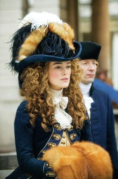 """18th Century riding habit made for the movie """"The Duchess"""" Easily one of my favorite movie costumes"""