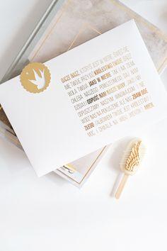 #komuniaswieta Komunia zdjęcia, złoty nadruk, #ihs, modlitwa, Ojcze Nasz Place Cards, Place Card Holders