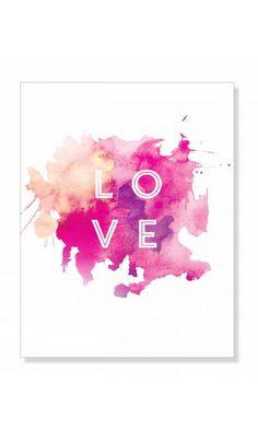 LOVE print #vdaygifts