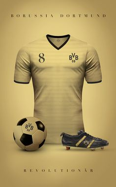 Borussia Dortmund - Vintage clubs on @behance