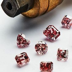 - Argyle Pink Diamonds 'It is during the polishing process that the magnificence of a rough pink diamond is elevated to it's pinnacle and the brightness, fire and scintillation of a diamond is truly revealed.'