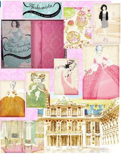 The Time-Traveling Fashionista at the Palace of Marie Antoinette by Bianca…