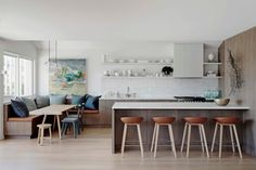 HappyModern.RU   Кухня без верхних шкафов: 75  функциональных интерьеров для тех, кто устал от кухонной классики   http://happymodern.ru
