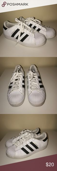 Superstars! Good condition. I do bundle just ask! adidas Shoes Athletic Shoes