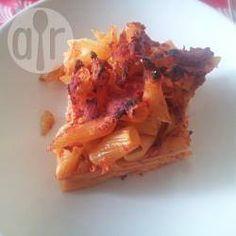 Pasta al forno con le polpettine @ allrecipes.it