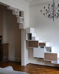 7 Terrific Modern Bookcase Ideas (High-Level Inspiration Who says the reading activity is lifeless? Diy Furniture, Furniture Design, Muebles Living, Interior Architecture, Interior Design, Interior Trim, Modern Bookcase, Shelf Design, Storage Design