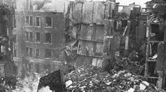The Blitz is the title given to the German bombing campaign on British cities during World War Two. However, the term 'Blitz' is more commonly used for the Casualties Of War, Learning Sites, The Blitz, Air Raid, Ww2 Photos, Historical Pictures, Luftwaffe, British History, World History