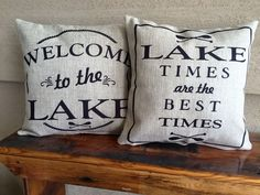 Our pillows have coordinated sayings and original designs on the front and back…two fabulous looks for the price of one. Our vision is to create beautiful, neutral pillows that evoke a positive emotio
