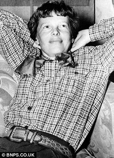 Adventurous: There are many theories about the fate of Amelia Earhart after her plane disappeared over the Pacific Ocean around 800 miles from Papa New Guinea