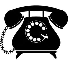 old fashioned telephone clipart google search crafts pinterest rh pinterest com clipart telephone vert clip art telephone operator