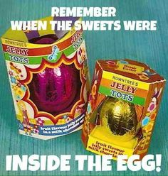 i remember these at easter loved jelly tots, still do..