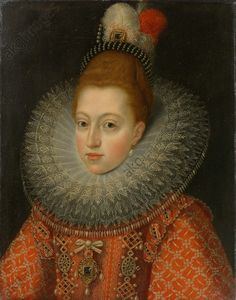 Margaret of Austria, Consort of Philip III, workshop of Frans Pourbus, II, c. 1600