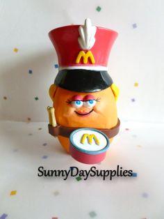 Vintage McDonalds McNugget Buddies DRUMMER