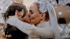 thequeenswife: How the wedding should've been…. Ouat, Swan Queen, I Am A Queen, Lesbian Wedding, Lesbian Love, Regina And Emma, Regina Mills, Jennifer Morrison, Captain Swan
