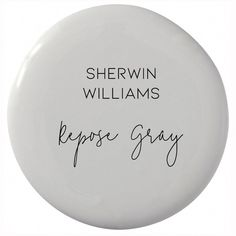 Why This Is The Only Gray Paint Color You'll Ever Need - Sherwin Williams Repose. Why This Is The Only Gray Paint Color You'll Ever Need – Sherwin Williams Repose Gray (neutral Bedroom Paint Colors, Interior Paint Colors, Paint Colors For Home, House Colors, Interior Painting, Gray Paint For Bedroom, Paint Colours, Interior Design, Grey Paint For Bathroom