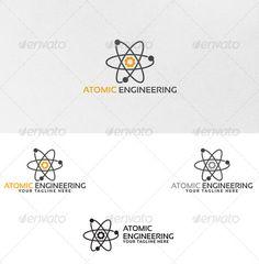 Atomic Engineering - Logo Template