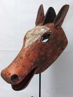This mask can be yours !!African mask Bozo Animal mask Horse mask Tribal art Collectible African art
