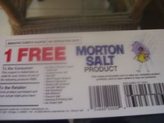 2 free morton product coupons