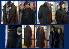 sherlock coat handmade! Swoon!  A Study in Coat-Making by crimsongriffin28.deviantart.com