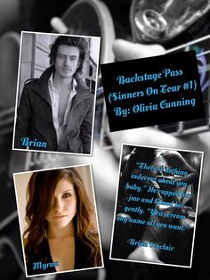 Backstage Pass (Sinners On Tour #1) By: Olivia Cunning