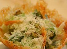 Caesar saláta recept