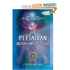 book; Pleiadian: Initiations Of Light by Christine Day she is a reptilian~!! she has slits in her eyes~!!! ewwwwwwww