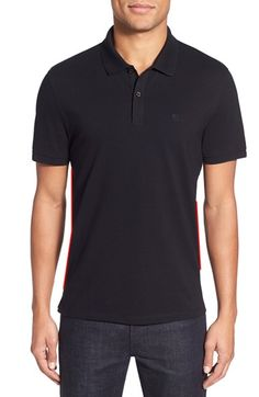 BOSS 'Pallas' Regular Fit Logo Embroidered Polo Shirt available at #Nordstrom