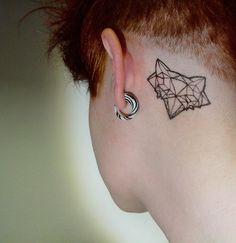 Black tattoo / ink