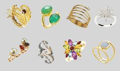 John Lewis Mawi and Oliver Bonas: The best statement ring designs