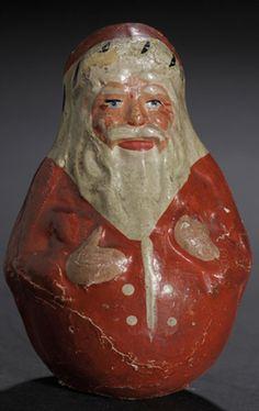 vintage # Santa # rolly polly