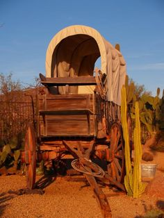 1870 Covered Wagon