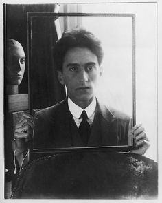 Jean Cocteau by Man Ray 1922