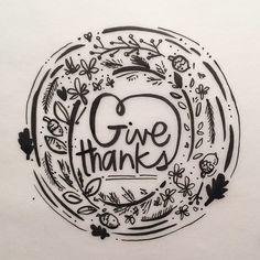 #givethanks #sandidoodles #blackandwhite #words #thanksgiving #thankful