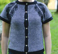 Ravelry: Briochewings Cardigan pattern by Raina K
