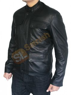 Get outstanding sale offer get Arnold Schwarzenegger Terminator Genisys Black leather Jacket