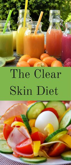 The Clear Skin Diet beautiful skin diet plan and tips. acne tips. anti ageing tips. how to get beautiful skin. what is the best diet for healthy skin. how to eat for clear skin Foods For Clear Skin, Food For Glowing Skin, Clear Skin Diet, Foods For Healthy Skin, Healthy Skin Care, Tips For Clear Skin, Diet For Skin, How To Clear Skin, Glowing Skin Juice