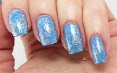 Blue Maritime Nails for Lacke in Farbe... und bunt! #21 Medium Blue and Lacktrends #4 Maritim
