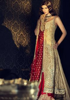 New Bridal Dress Fashion | What's New in Bridal Dresses | Sana Safinaz Bridal Collection