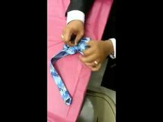 How to Turn a Regular Tie Into a Bow Tie - OMG its like magic!
